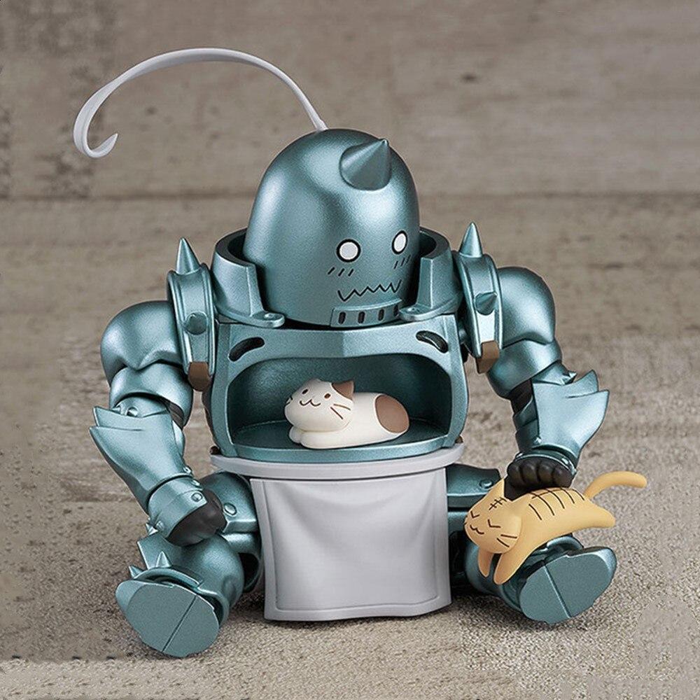 Fullmetal Alchemist Anime Figures Alphonse Elric #796 PVC Toys Edward Elric Action Figura Collectible Model Elric Doll